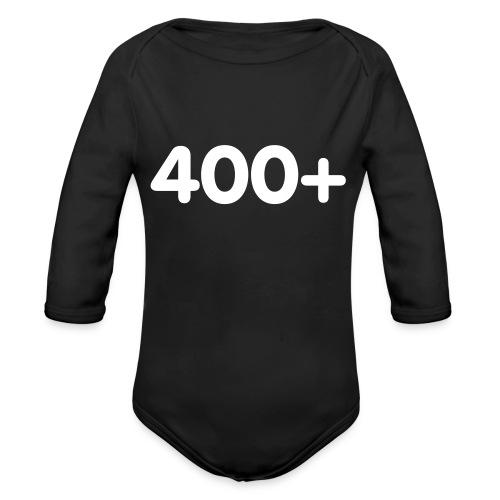 400 - Baby bio-rompertje met lange mouwen