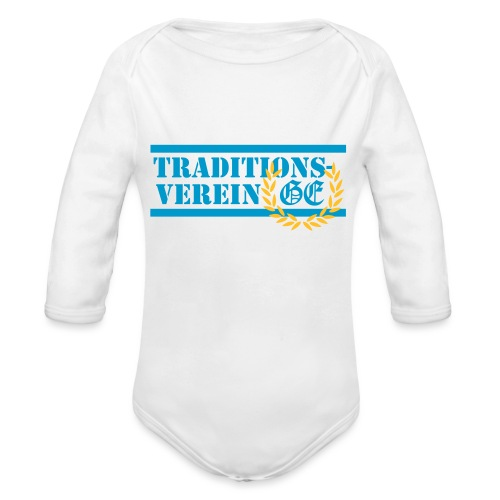 Traditionsverein - Baby Bio-Langarm-Body