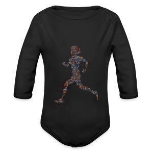 RUN athletic - Baby Bio-Langarm-Body