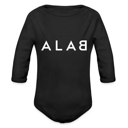 ALAB - Body ecologico per neonato a manica lunga