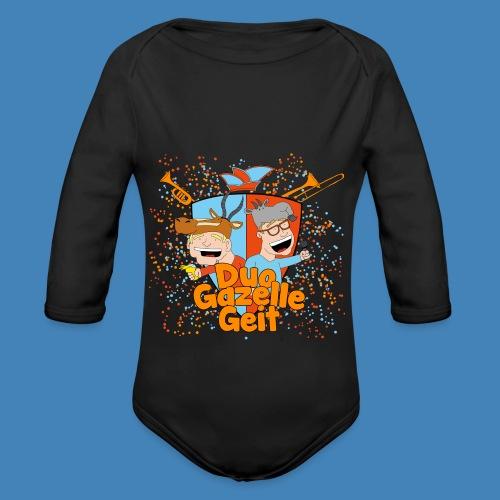 GazelleGeit - Baby bio-rompertje met lange mouwen