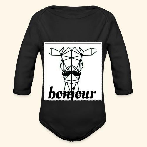 Bonjour - Baby bio-rompertje met lange mouwen