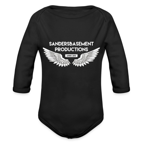 T SHIRT logo wit png png - Baby bio-rompertje met lange mouwen