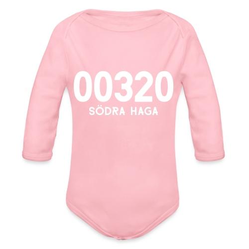 00320 SODRAHAGA - Vauvan pitkähihainen luomu-body