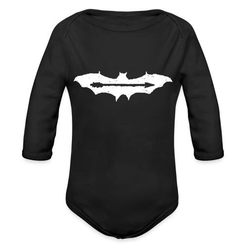 AjuxxTRANSPAkyropteriyaBlackSeriesslHotDesigns.fw - Organic Longsleeve Baby Bodysuit