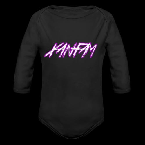 XANFAM (FREE LOGO) - Baby Bio-Langarm-Body