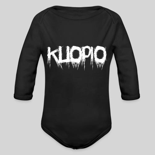 Kuopio - Vauvan pitkähihainen luomu-body