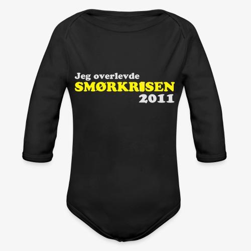 Smørkrise 2011 - Norsk - Økologisk langermet baby-body