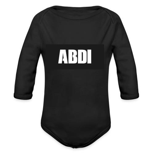 Abdi - Organic Longsleeve Baby Bodysuit