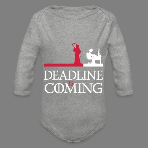 deadline is coming - Baby Bio-Langarm-Body