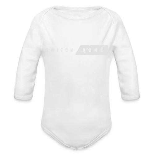 Switchbone_white - Baby bio-rompertje met lange mouwen