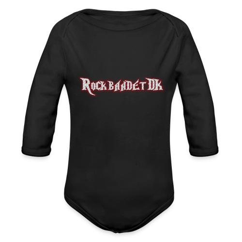 Rockbandet.DK - Langærmet babybody, økologisk bomuld