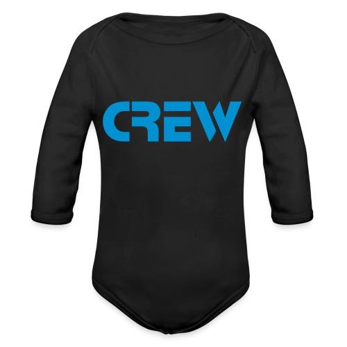 Tiny crew - Baby bio-rompertje met lange mouwen