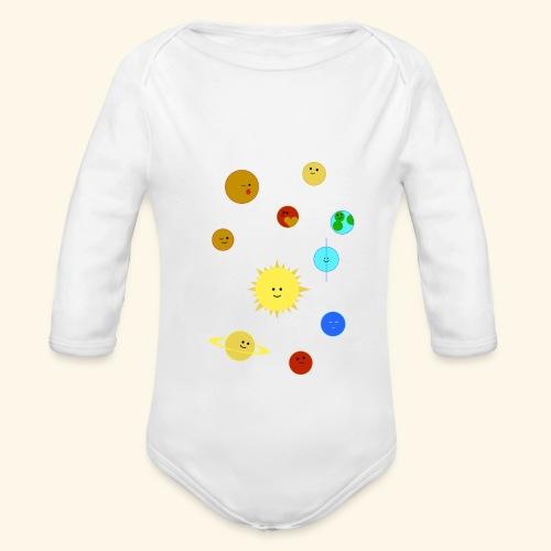 Solsystemet - Ekologisk långärmad babybody