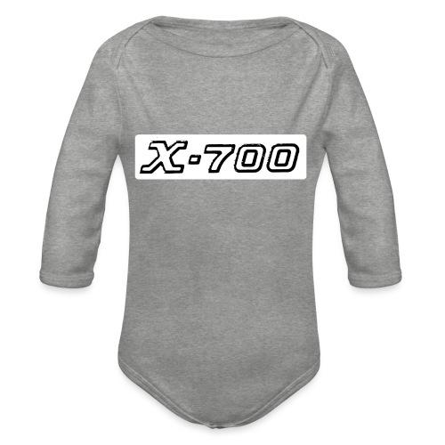 Minolta X-700 White - Body ecologico per neonato a manica lunga