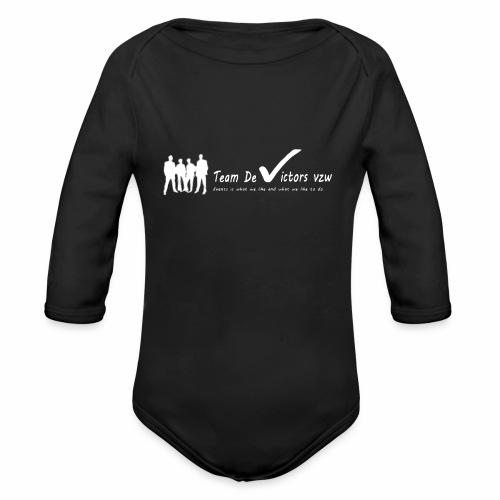 TDV - Baby bio-rompertje met lange mouwen