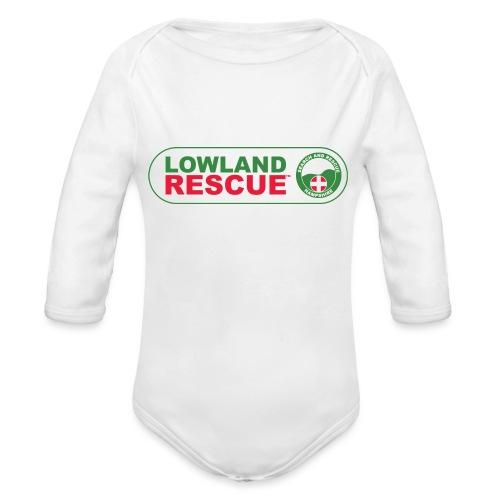 HANTSAR lozenge - Organic Longsleeve Baby Bodysuit