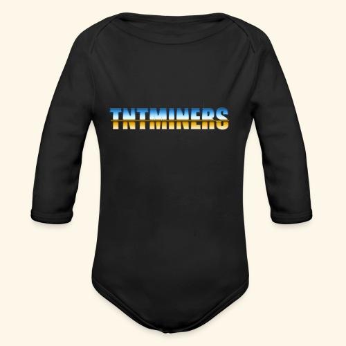 TntMiners annan färg 2 - Ekologisk långärmad babybody