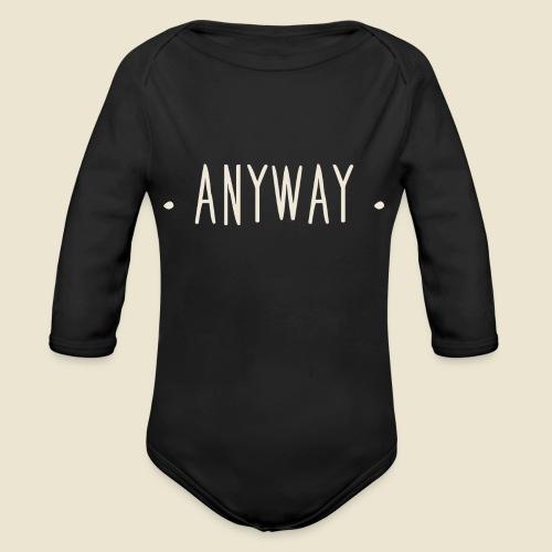 Anyway - Body Bébé bio manches longues