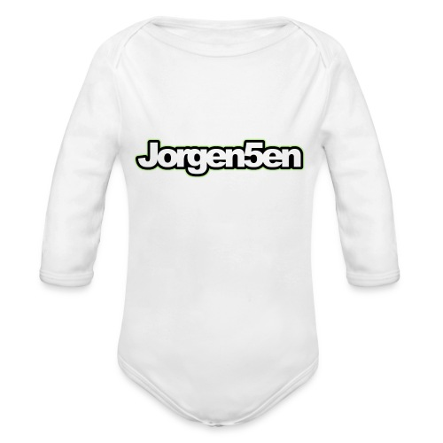 tshirt - Langærmet babybody, økologisk bomuld