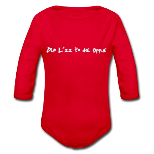 Die Lzz - Langærmet babybody, økologisk bomuld