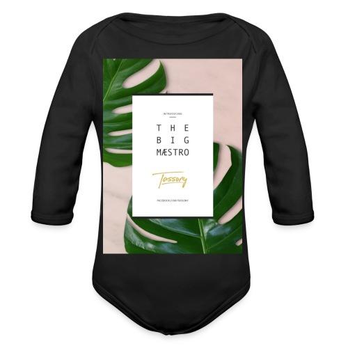 Tassony manifesto - maglietta - Body ecologico per neonato a manica lunga