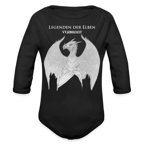 Legenden der Elben weiß png - Baby Bio-Langarm-Body