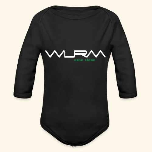 WLRM Schriftzug white png - Baby Bio-Langarm-Body