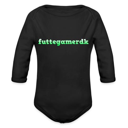 futtegamerdk trøjer badge og covers - Langærmet babybody, økologisk bomuld