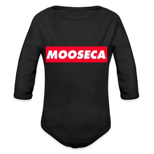 MOOSECA T-SHIRT - Body ecologico per neonato a manica lunga