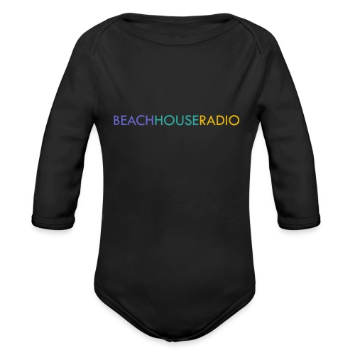 Beach House Radio Logo - Organic Longsleeve Baby Bodysuit