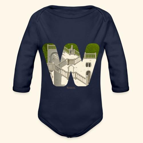 Wuppertal T-Shirt Vogelsauer Treppe - Baby Bio-Langarm-Body