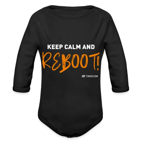 Reboot - Langærmet babybody, økologisk bomuld
