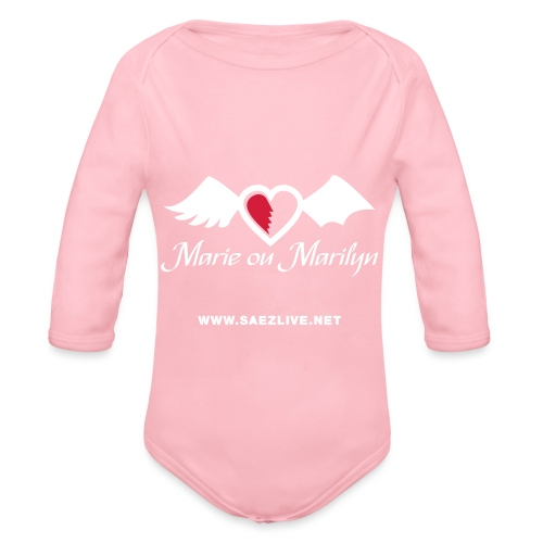 Marie ou Marilyn (version light) - Body Bébé bio manches longues