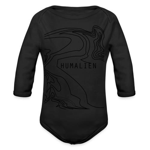 holograph2 - Organic Longsleeve Baby Bodysuit
