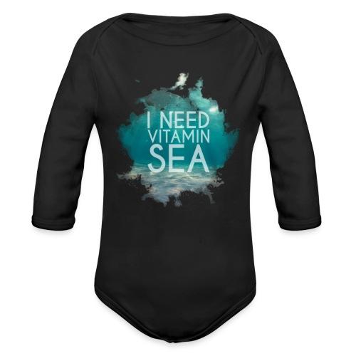 Vitamin Sea - Ekologisk långärmad babybody