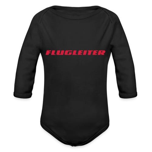 flugleiter - Baby Bio-Langarm-Body