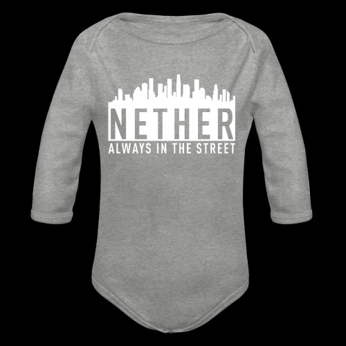 Nether - Always in the Street - Body ecologico per neonato a manica lunga