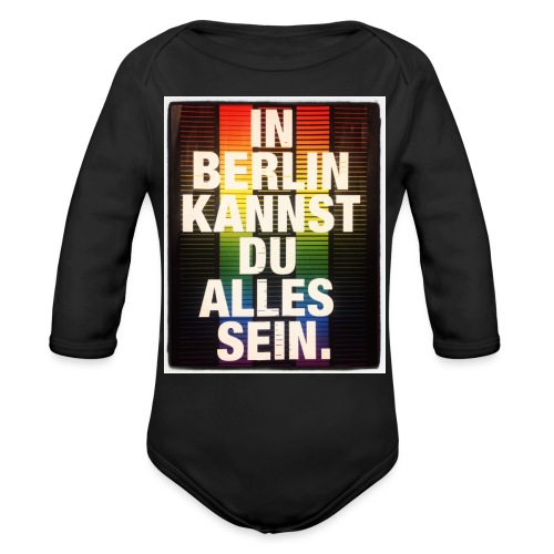 City of Freedom Berl!n - Organic Longsleeve Baby Bodysuit
