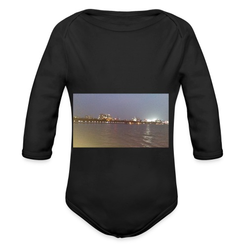 Friends 2 - Organic Longsleeve Baby Bodysuit