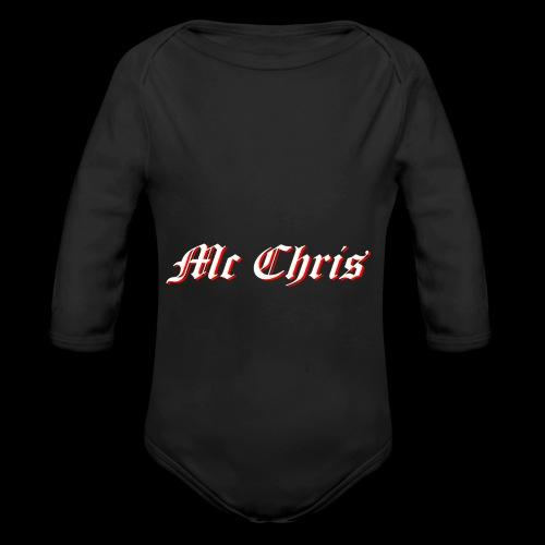McChrislOGO11 - Baby Bio-Langarm-Body