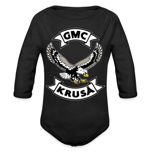 Kun GMC-medlemmer! - Kun for / kun til FULLMEMBER! - Langærmet babybody, økologisk bomuld