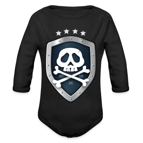 champion's league skull 06 - Body bébé bio manches longues
