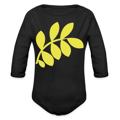 International Peace Bureau IPB Logo variant 1 - Organic Longsleeve Baby Bodysuit