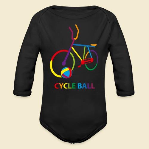 Radball | Cycle Ball Rainbow - Baby Bio-Langarm-Body