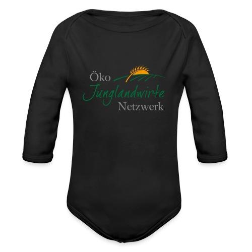 junglandwirtetagung 3C simple netzwerk png - Baby Bio-Langarm-Body
