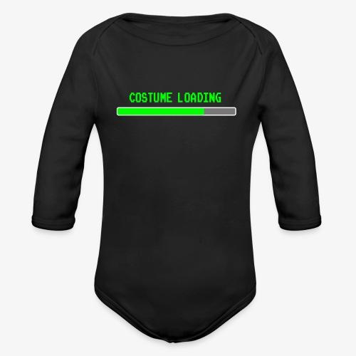 Costume Loading Halloween Costume patjila - Organic Longsleeve Baby Bodysuit