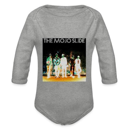 The Mojo Slide - Design 2 - Organic Longsleeve Baby Bodysuit