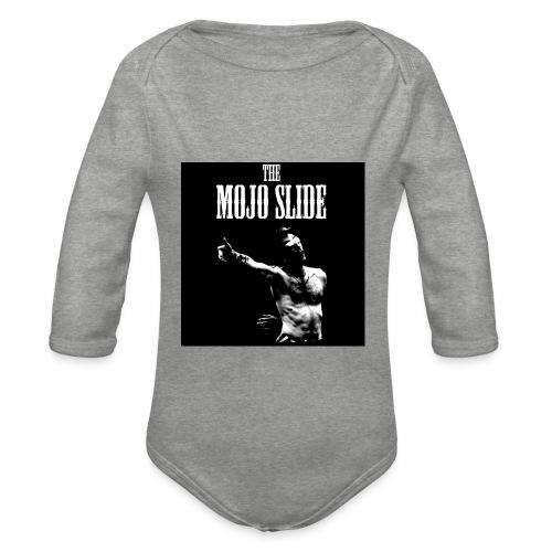 The Mojo Slide - Design 1 - Organic Longsleeve Baby Bodysuit