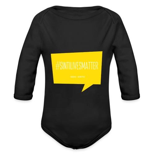 Sinti Lives Matter - Organic Longsleeve Baby Bodysuit